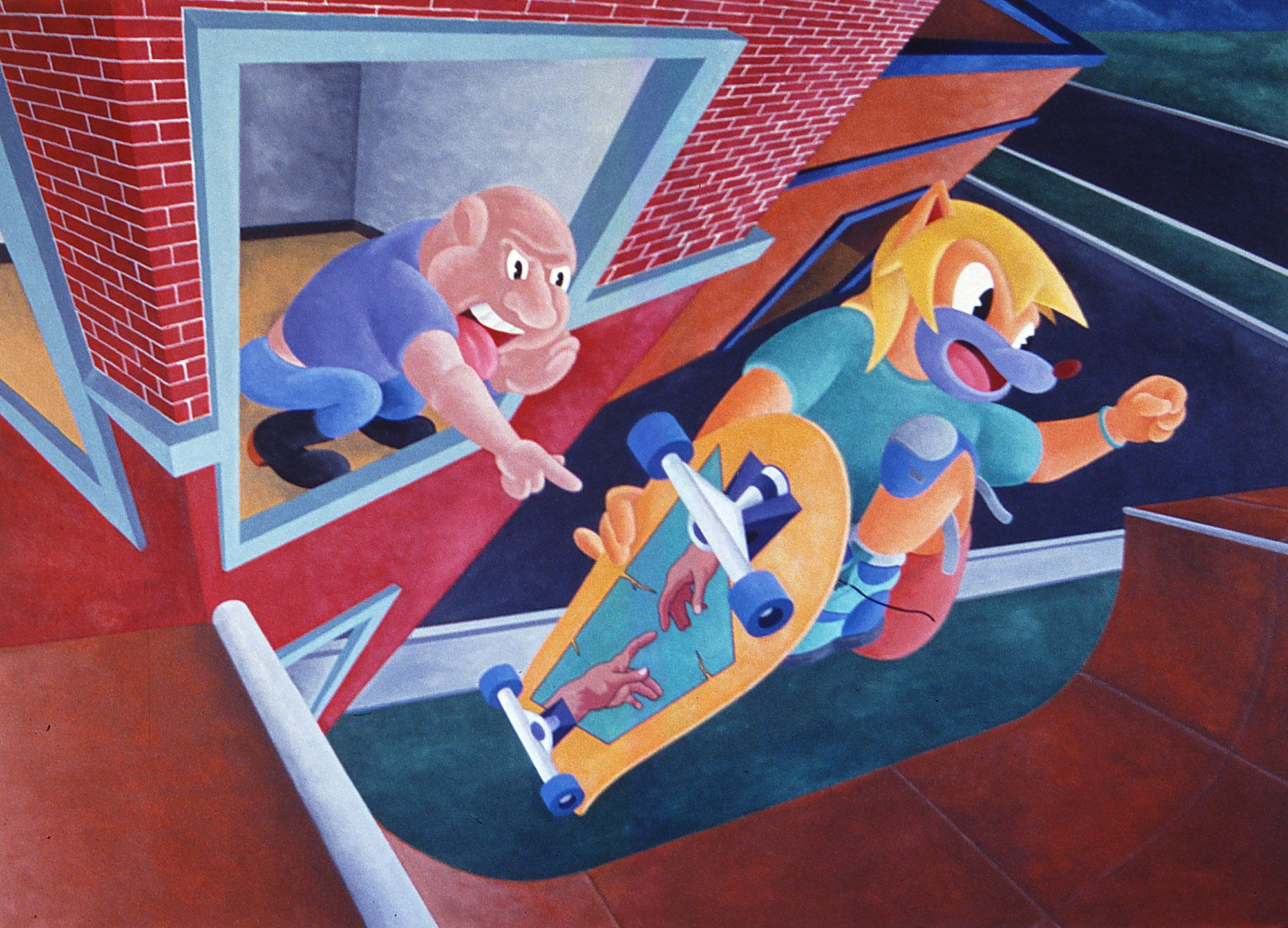 Catching Air, 1991