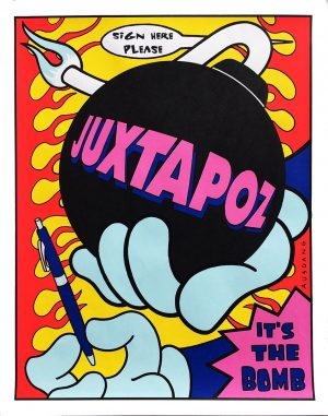 Juxtapoz poster