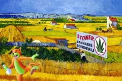 Van Gogh's Weed