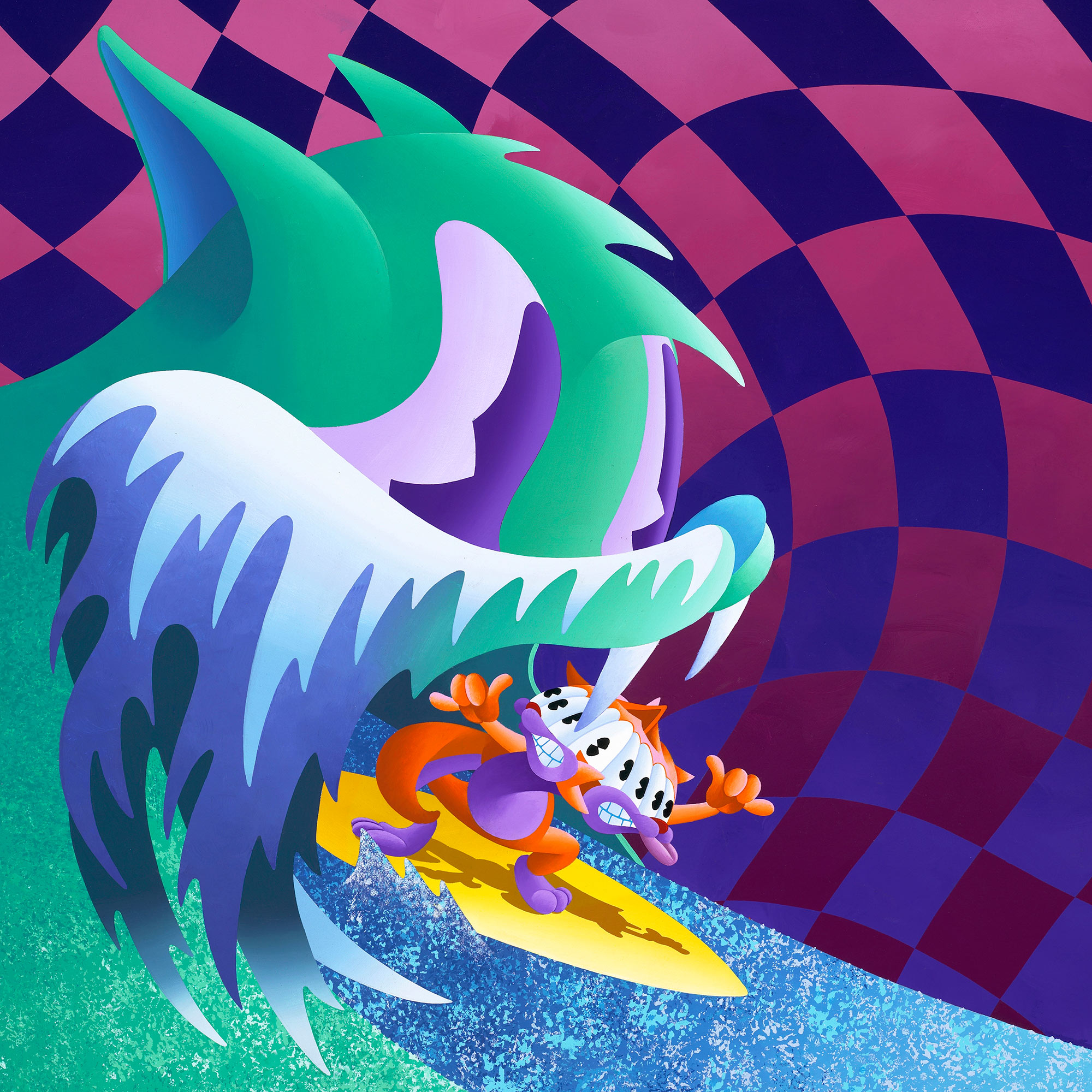 "MGMT ""Congratulations"" Album Cover Art"