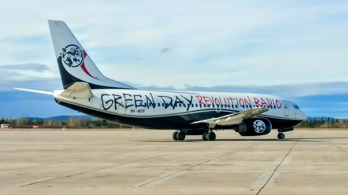 Green Day Airplane
