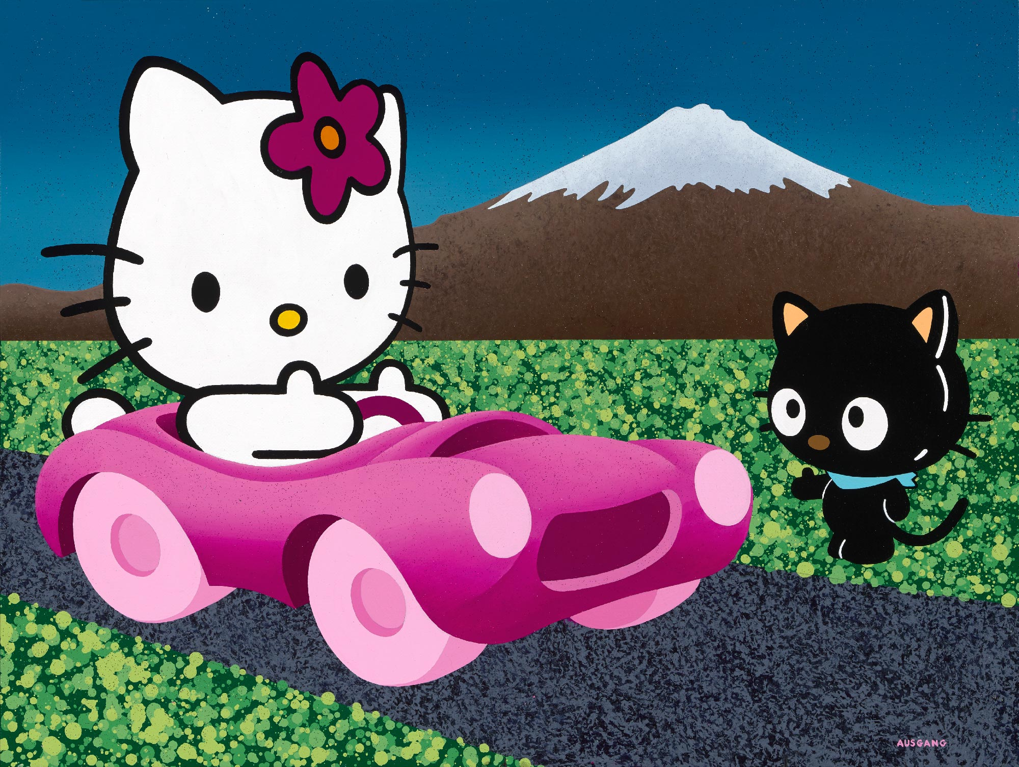 Hello Kitty, how about a ride? 2019