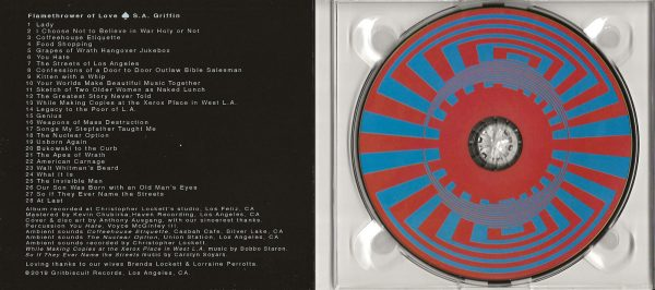 S.A. Griffin CD inside